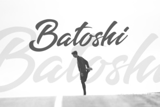 Download Free Batoshi Font By Hustletter Creative Fabrica for Cricut Explore, Silhouette and other cutting machines.
