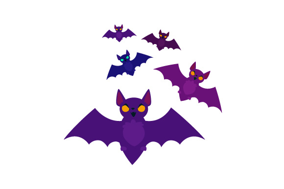 Bats Halloween Craft Cut File By Creative Fabrica Crafts