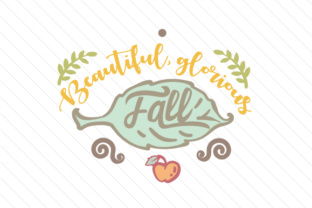 Beautiful Glorious Fall Fall Craft Cut File By Creative Fabrica Crafts