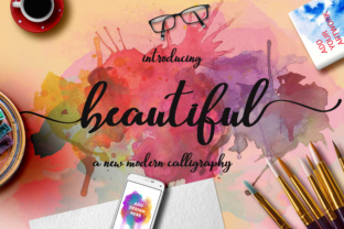 Beautiful Script Script & Handwritten Font By Mrletters