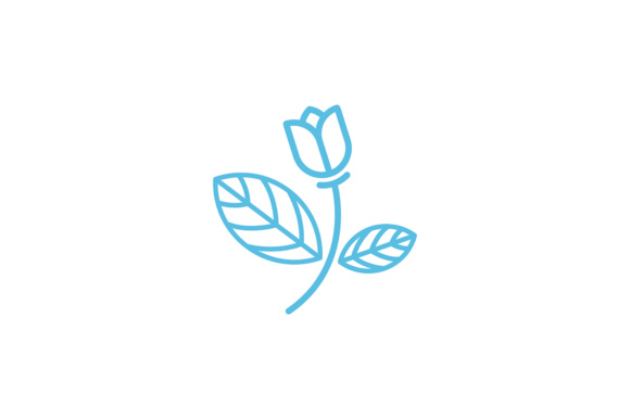 Beautiful Flower Design Graphic Logos By Friendesigns