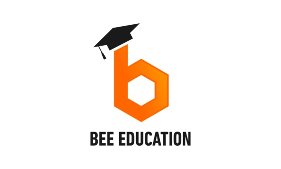 Bee Education Logo Concept Graphic Logos By DEEMKA STUDIO