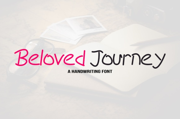 Print on Demand: Beloved Journey Script & Handwritten Font By Rvandtype