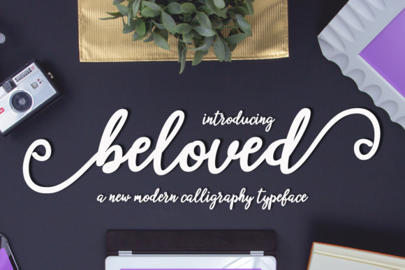 Beloved Script Script & Handwritten Font By Mrletters