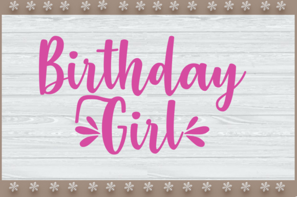 Print on Demand: Birthday Girl and Boy's SVG Design Graphic Crafts By Artistcreativedesign