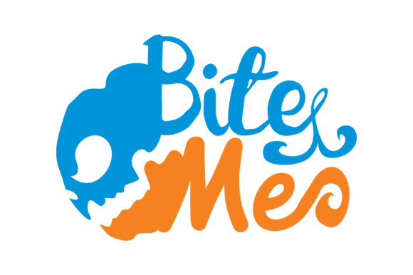 Download Free Bite Me Graphic By Thelucky Creative Fabrica for Cricut Explore, Silhouette and other cutting machines.