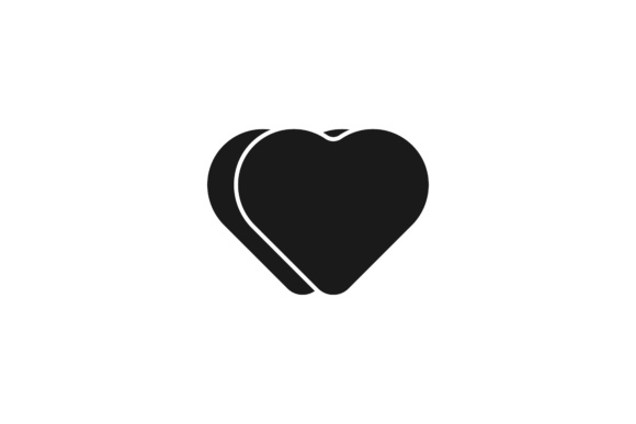 Download Free Black Love Logo Graphic By Yahyaanasatokillah Creative Fabrica for Cricut Explore, Silhouette and other cutting machines.