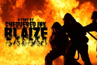 Blaize Font By Chequered Ink