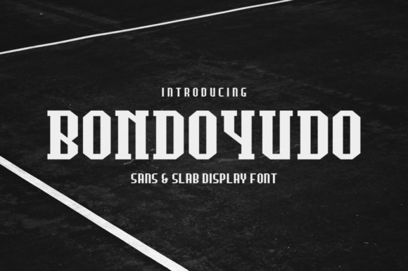 Print on Demand: Bondoyudo Display Font By fadielm70