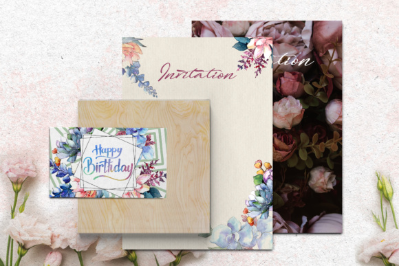 Print on Demand: Bouquets Flowers Set PNG Watercolor Graphic Illustrations By MyStocks - Image 4