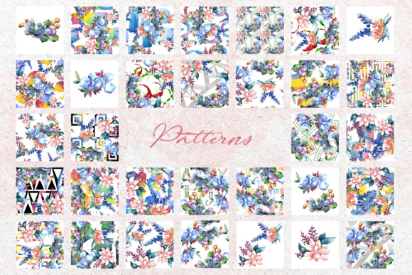 Print on Demand: Bouquets Flowers Set PNG Watercolor Graphic Illustrations By MyStocks - Image 7