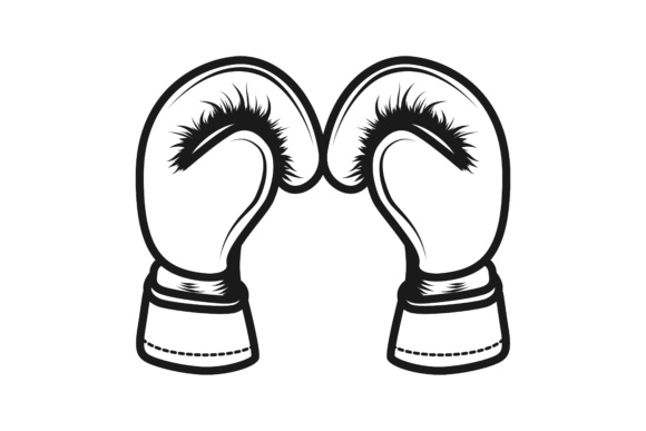 Download Free Boxing Gloves Logo Grafico Por Yahyaanasatokillah Creative Fabrica for Cricut Explore, Silhouette and other cutting machines.
