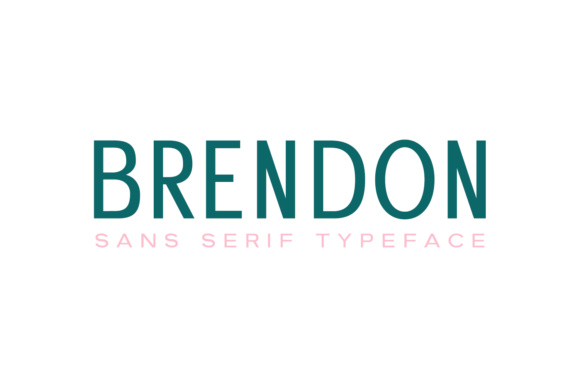 Print on Demand: Brendon Sans Serif Font By Creative Tacos