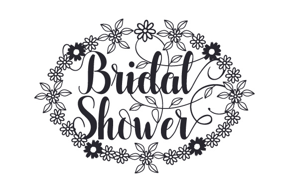 Bridal Shower Wedding Craft Cut File By Creative Fabrica Crafts