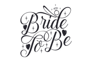 Bride to Be Craft Design By Creative Fabrica Crafts