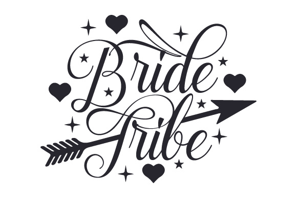 Bride Tribe Boda Archivo de Corte Craft Por Creative Fabrica Crafts