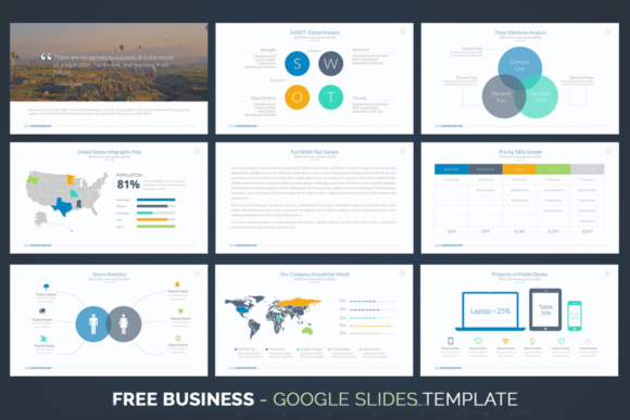 Business Google Slides Template Graphic Graphic Templates By Creative Fabrica Freebies - Image 2