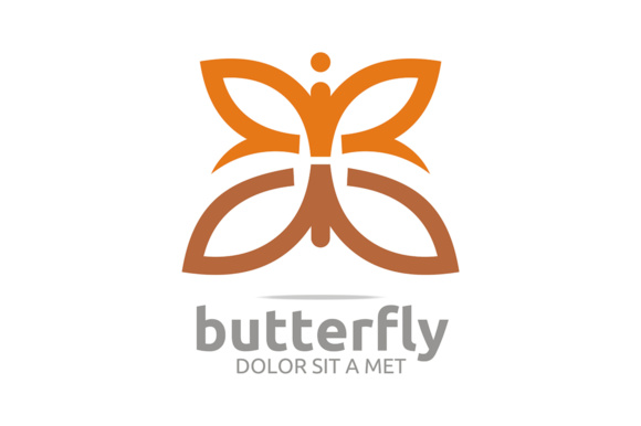 Butterfly Animals Logo Graphic Logos By Acongraphic