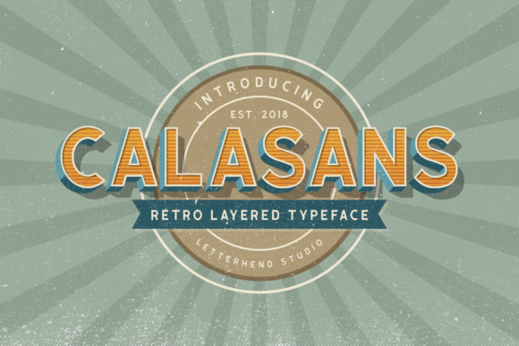 Print on Demand: Calasans Sans Serif Font By letterhend