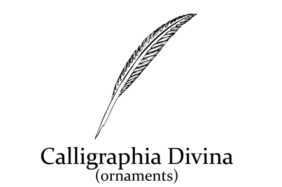Print on Demand: Caligrafia Divina Dingbats Font By Intellecta Design