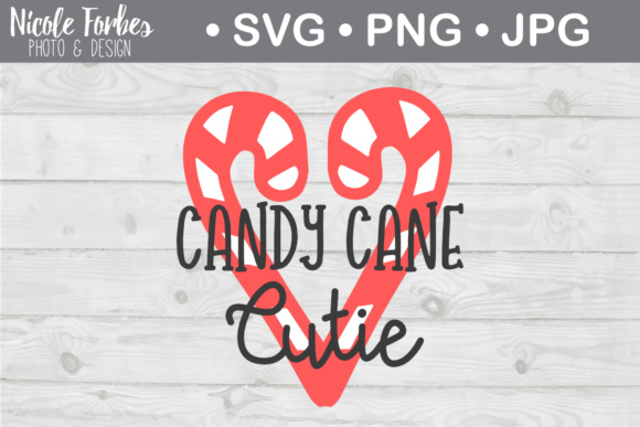 Download Free Candy Cane Cutie Svg Graphic By Nicole Forbes Designs Creative SVG Cut Files