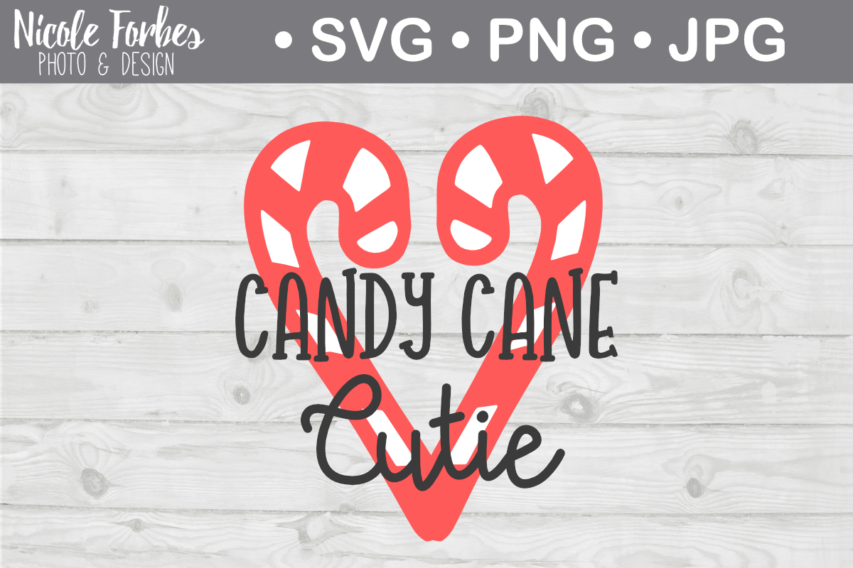 Download Free Candy Cane Cutie Svg Graphic By Nicole Forbes Designs Creative for Cricut Explore, Silhouette and other cutting machines.