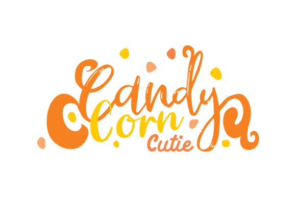 Print on Demand: Candy Corn Cutie Graphic Crafts By TheLucky - Image 1