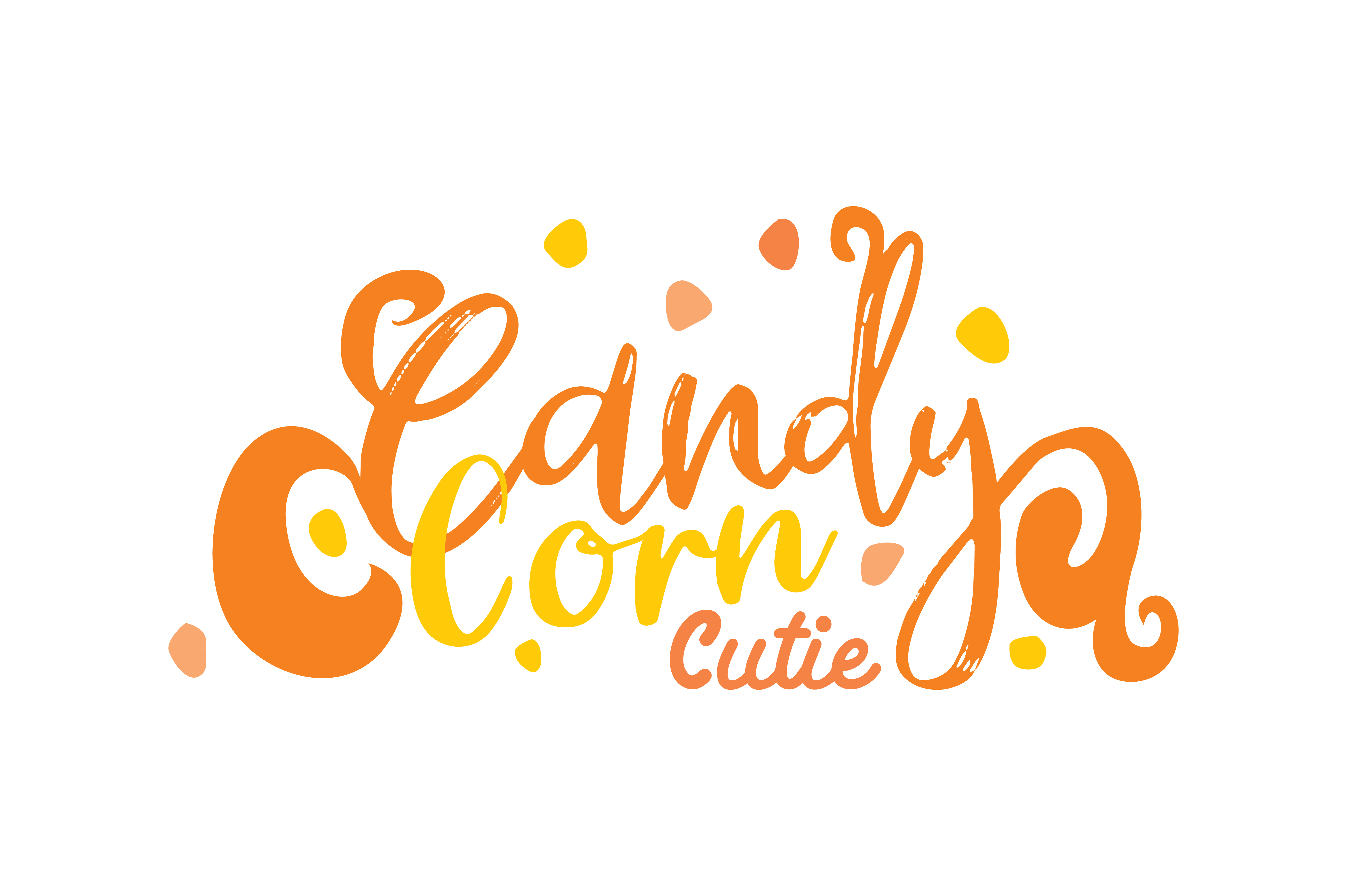 Download Free Candy Corn Cutie Graphic By Thelucky Creative Fabrica for Cricut Explore, Silhouette and other cutting machines.