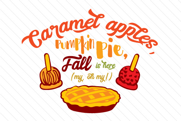 Download Free Caramel Apple Pumpkin Pie Svg Cut File By Creative Fabrica for Cricut Explore, Silhouette and other cutting machines.
