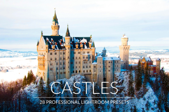 Download Free Castles Lr Presets Graphic By Pandoradreams Creative Fabrica for Cricut Explore, Silhouette and other cutting machines.