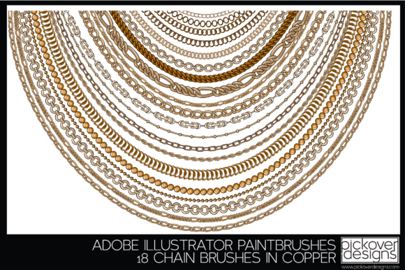 Download Free Chain Vector Brushes Graphic By Pickover Designs Creative Fabrica for Cricut Explore, Silhouette and other cutting machines.