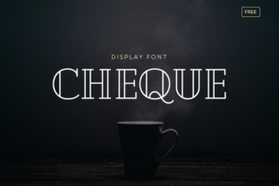 Cheque Font By Creative Fabrica Freebies