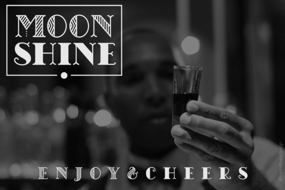 Chicago Moonshine Font By Roland Hüse Image 2