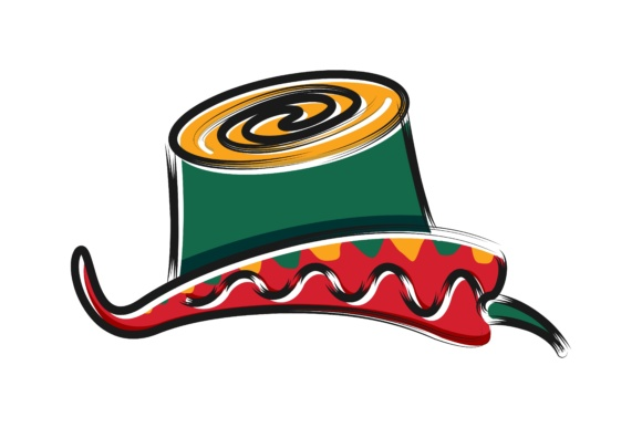 Download Free Chili And Hat Mexican Logo Graphic By Yahyaanasatokillah Creative Fabrica for Cricut Explore, Silhouette and other cutting machines.