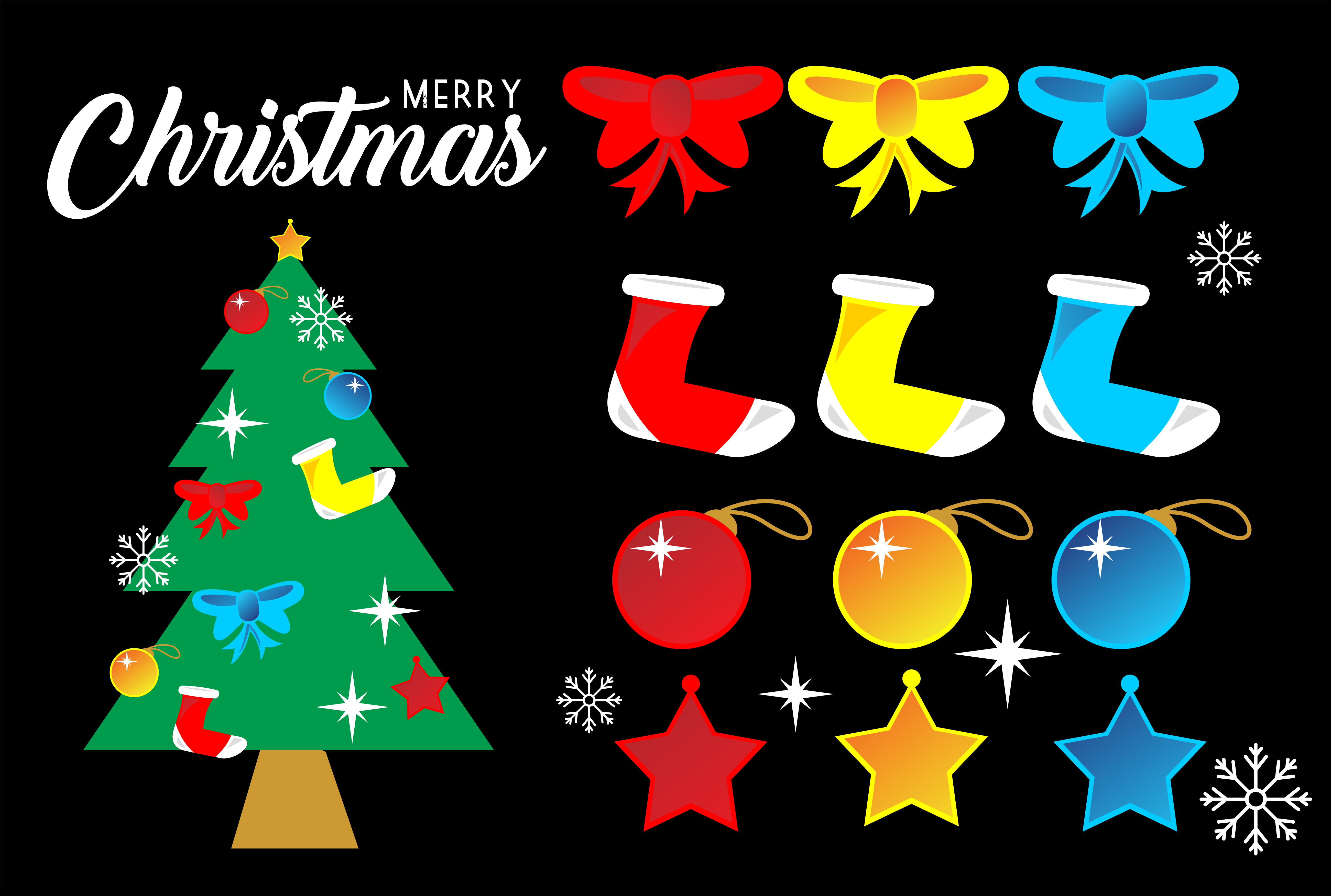 Download Free Christmas Atribute Religion Logo Graphic By Deemka Studio for Cricut Explore, Silhouette and other cutting machines.