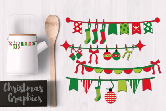 Print on Demand: Christmas Banners Graphic Illustrations By Revidevi