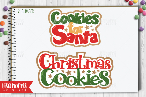 Christmas Cookies Clip Art Graphics Graphic By Lisa Norris Artworks Image 3