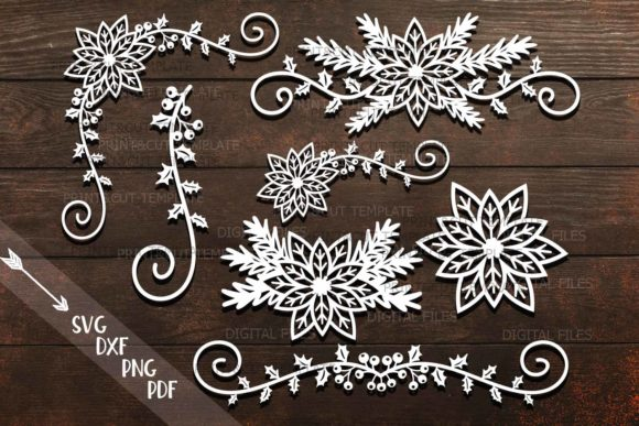 Download Free Christmas Decorations Graphic By Cornelia Creative Fabrica for Cricut Explore, Silhouette and other cutting machines.