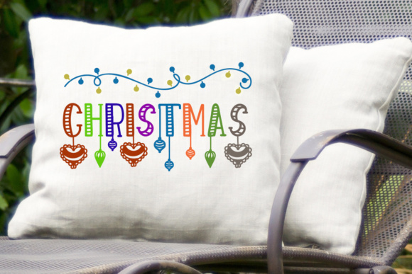 Print on Demand: Christmas Dingbats Dingbats Font By Lickable Pixels - Image 3
