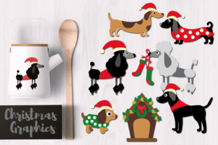 Christmas Dogs Graphic By Revidevi