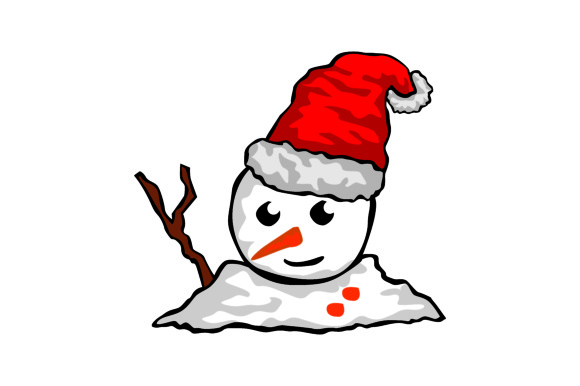 Print on Demand: Christmas Item Snow Man Vector Graphic Illustrations By Arief Sapta Adjie