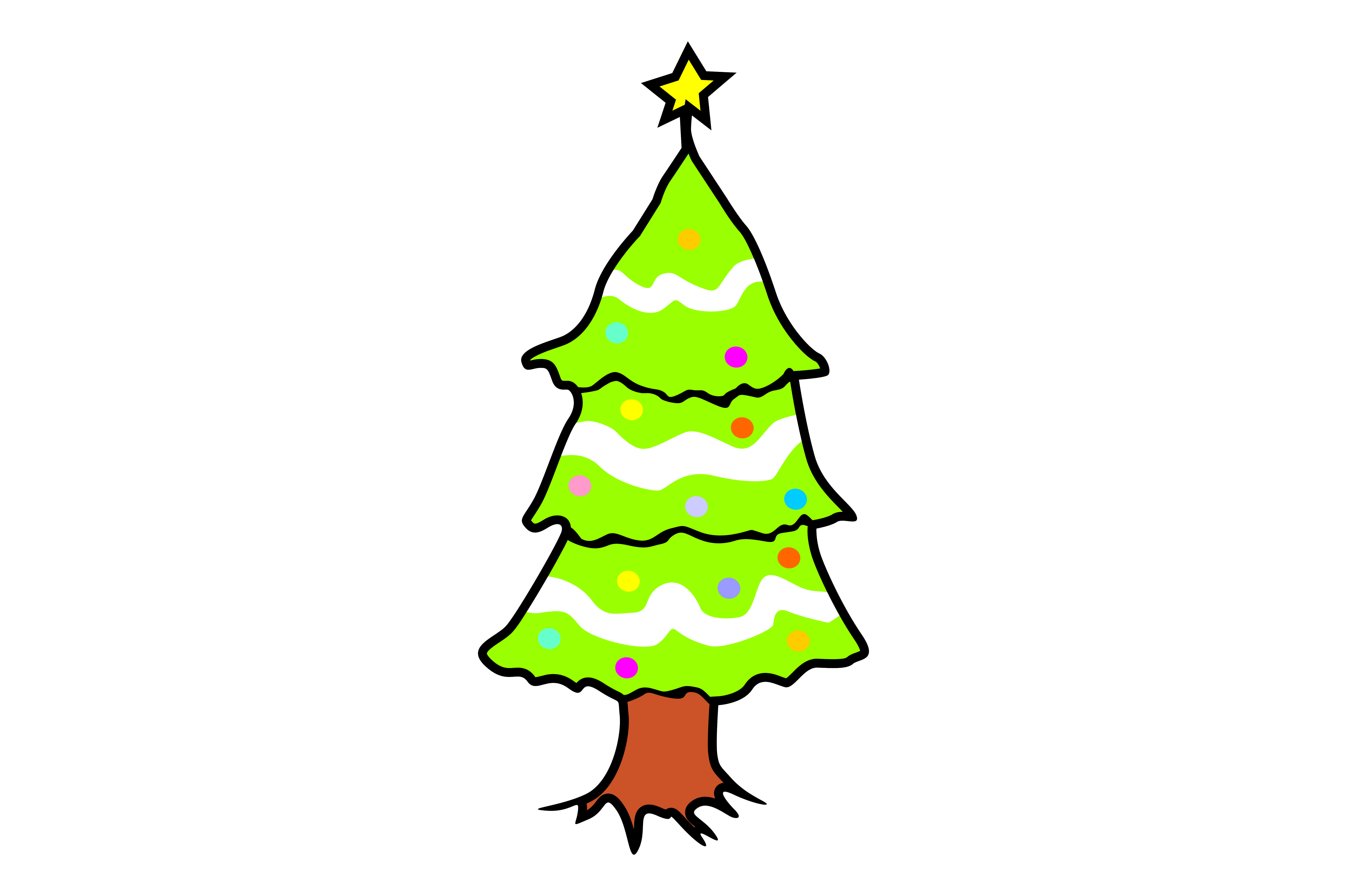 Download Free Christmas Item Tree Vector Graphic By Arief Sapta Adjie for Cricut Explore, Silhouette and other cutting machines.