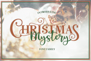 Christmas Mystery Family Script & Handwritten Font By Pasha Larin