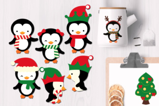 Christmas Penguins Graphic By Revidevi