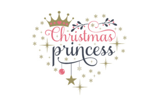 Christmas Princess Christmas Craft Cut File By Creative Fabrica Crafts