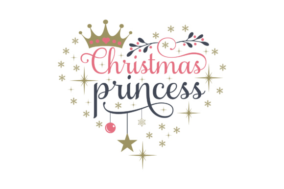 Christmas Princess Navidad Archivo de Corte Craft Por Creative Fabrica Crafts