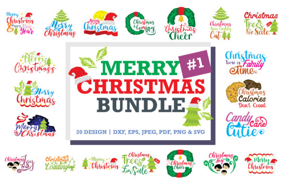 Print on Demand: Christmas Quotes Bundle Graphic Crafts By TheLucky