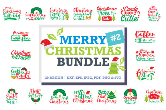 Download Free Christmas Quotes Bundle Grafico Por Thelucky Creative Fabrica SVG Cut Files