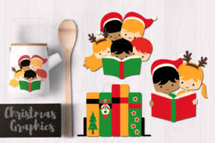 Christmas Reading Graphic By Revidevi