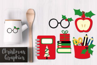 Christmas School Graphic By Revidevi